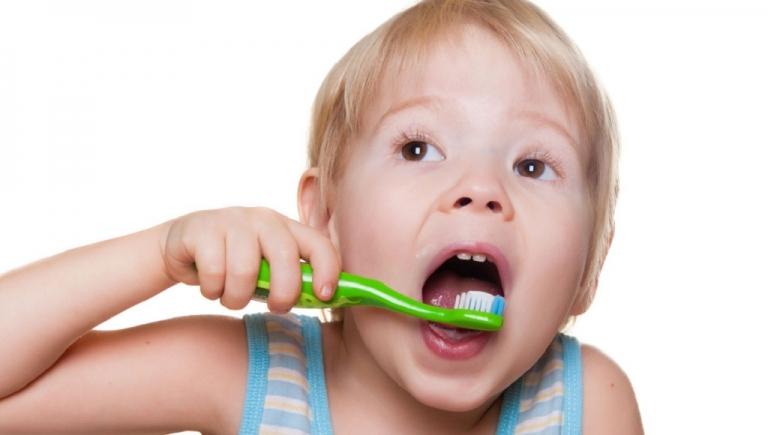 Higiene bucal en niños